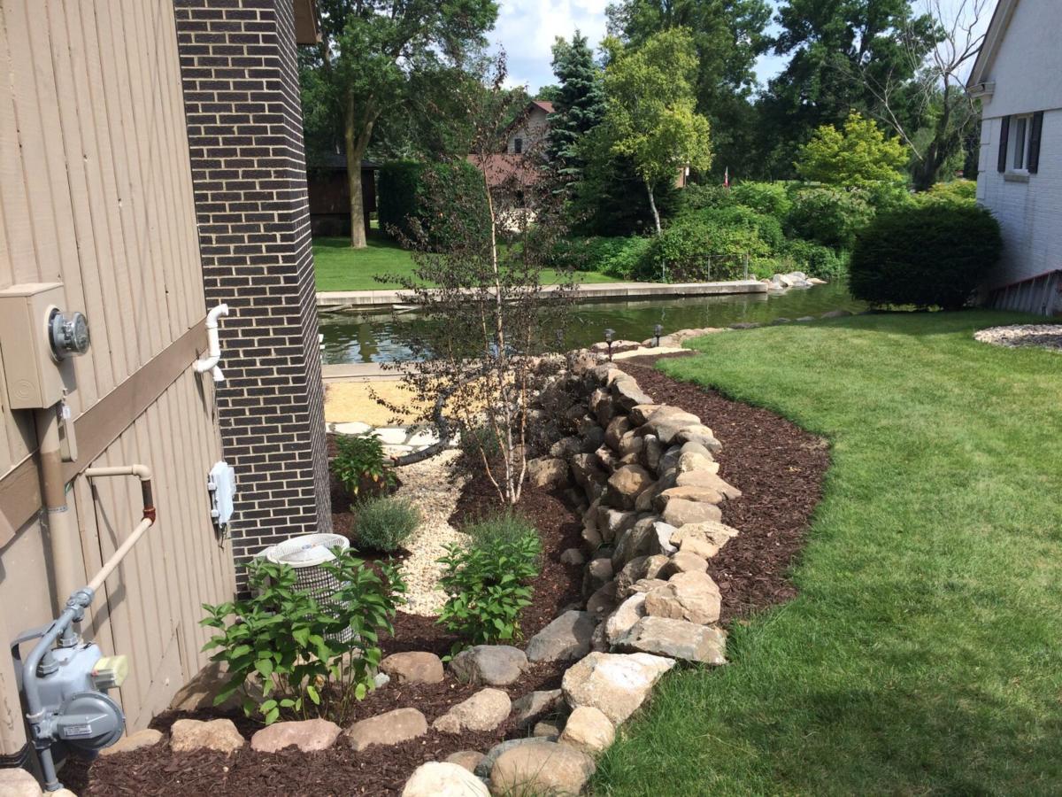 Garden Accent Walls