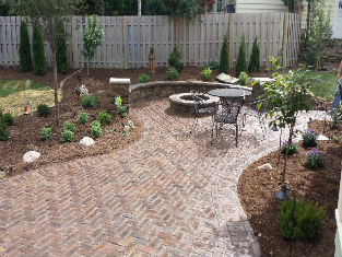 outdoorartslandscape patio small