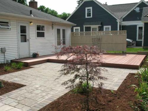 OutdoorArtsLandscape DeckPatio Plantings 002