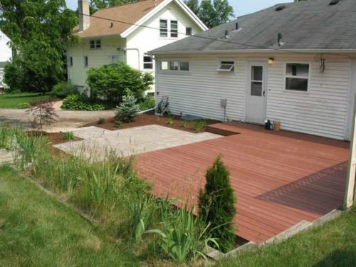 OutdoorArtsLandscape DeckPatio Plantings 003