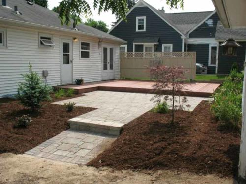 OutdoorArtsLandscape DeckPatio Plantings 004