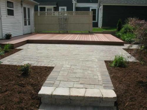 OutdoorArtsLandscape DeckPatio Plantings 005