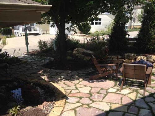 OutdoorArtsLandscape middletonhillsflagstone plantingswalls 006