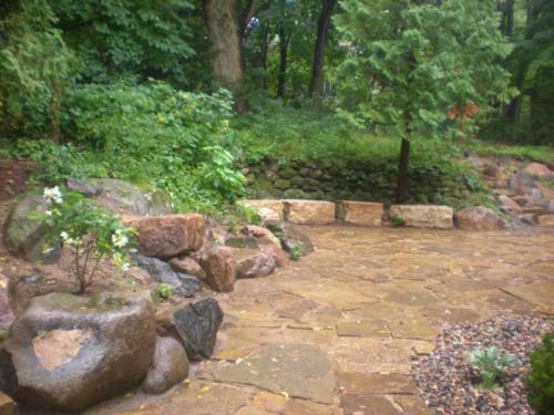 OutdoorArtsLandscape GililandNatStone wallsflagstonepatios 002