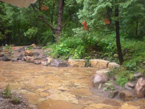 OutdoorArtsLandscape GililandNatStone wallsflagstonepatios 003