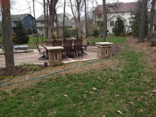 OutdoorArtsLandscape walshpatio pillarsstonewallsoutdoorliving 002